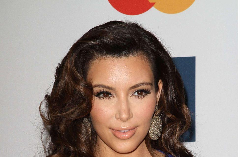 Kim Kardashian : Enceinte et fière de son petit ventre rond