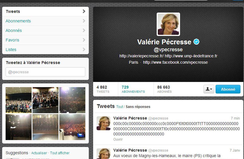 Valérie Pécresse : Elle dérape sur twitter