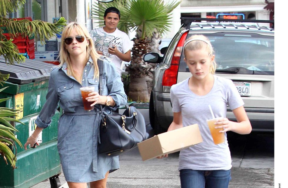 Reese Witherspoon : Telle mère, telle fille ! (Photos)