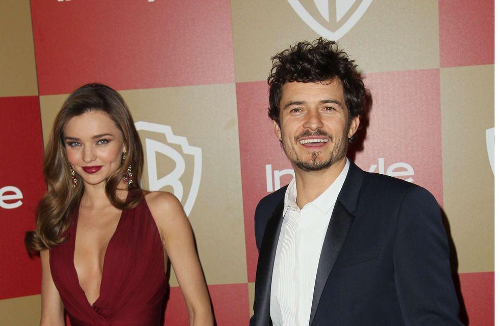 Golden Globes 2013 : Miranda Kerr et son petit souci de robe...