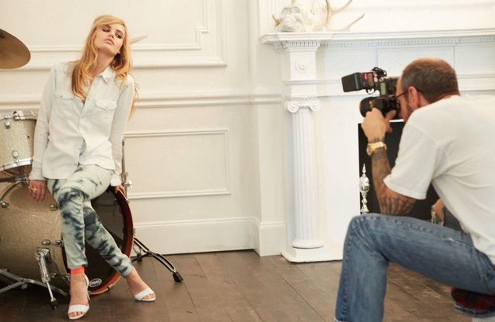 Les premières images de Georgia May Jagger pour H&M (Photos)