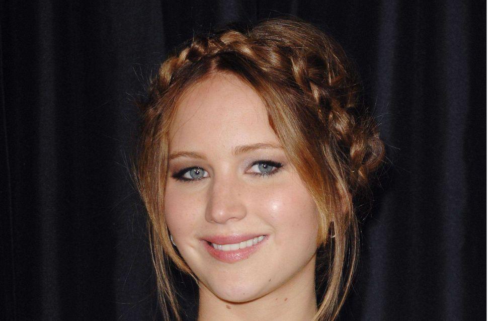 Jennifer Lawrence : Un tuto pour copier sa couronne tressée (Vidéo)