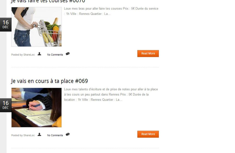 Insolite : Des étudiants à louer à Rennes