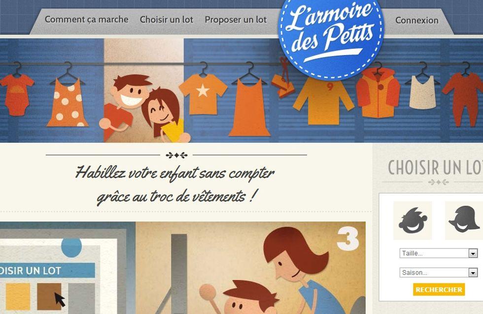 Sites de troc : Renouvelez gratuitement la garde-robe de vos enfants