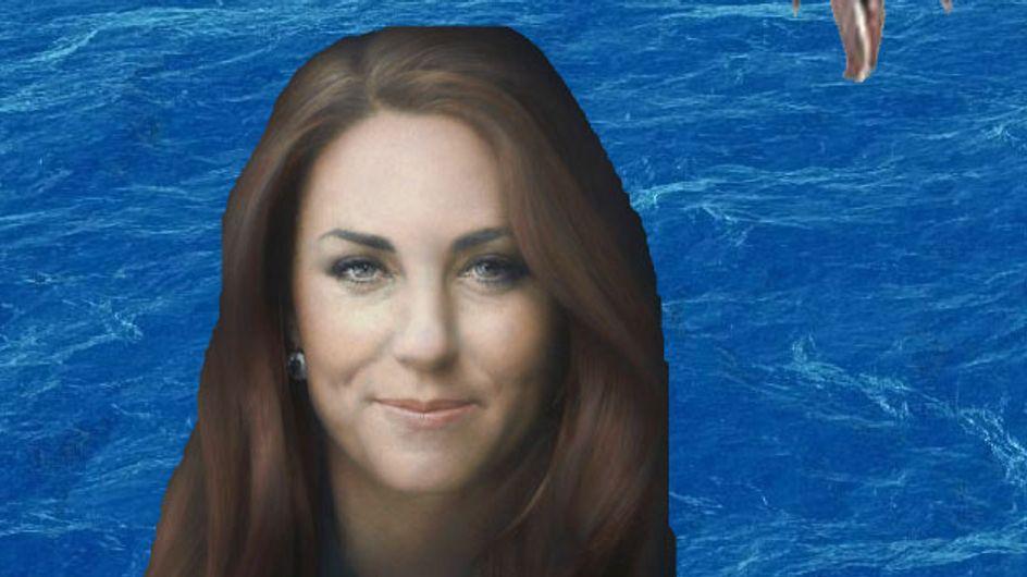 Kate Middleton : Son portrait détourné avec humour (Photos)