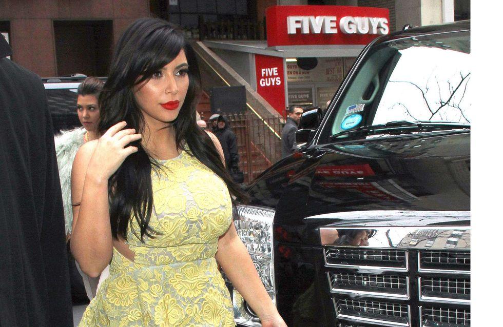 Kim Kardashian : Elle aussi accouchera en juillet (Vidéo)