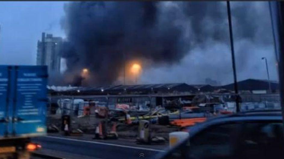 Un hélicoptère s'écrase dans Londres : 2 morts (Vidéo)