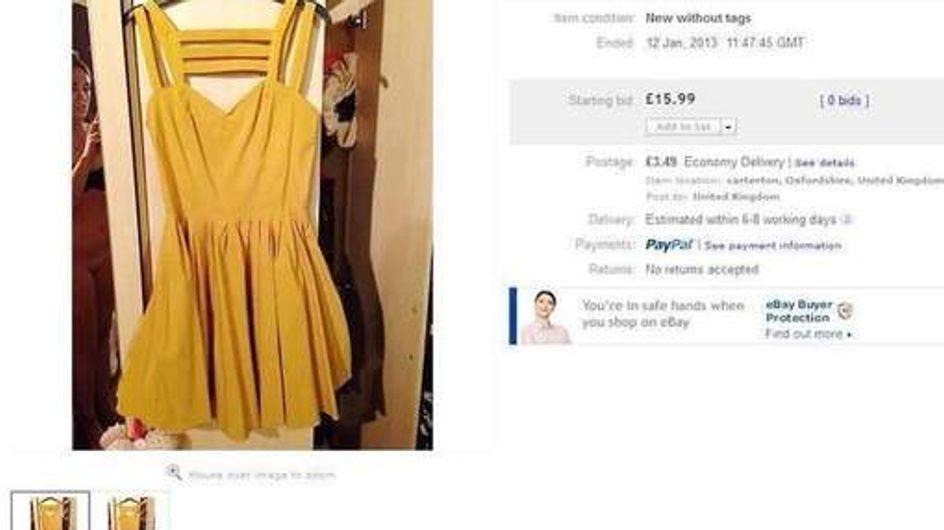 Insolite : Une jeune femme nue par erreur sur Ebay