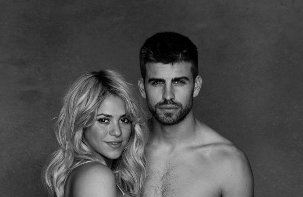 Shakira enceinte : Elle pose nue avec Gerard Piqué (Photo)