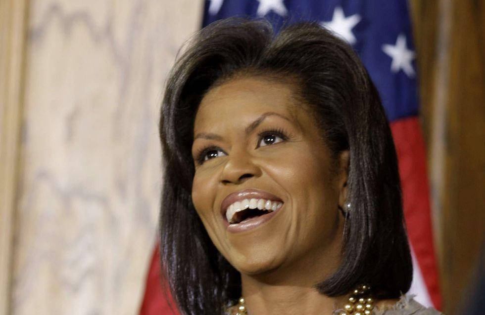 Michelle Obama : 49 ans et toujours aussi stylée ! (Photos)