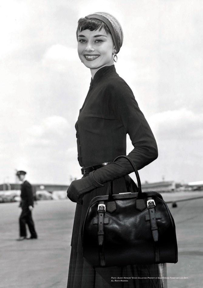 Audrey Hepburn  sac Riviera ST Dupont