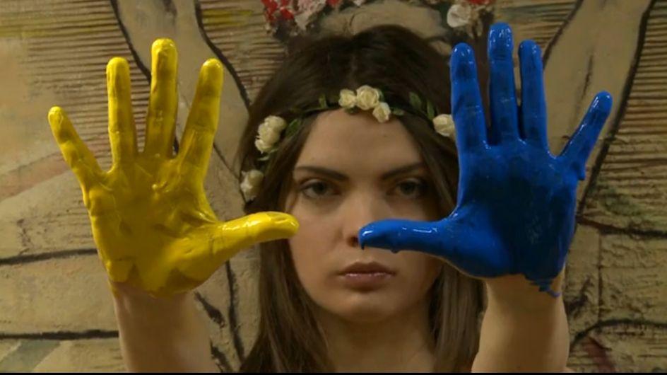 Femen : De l'art à portée de seins (Vidéo)