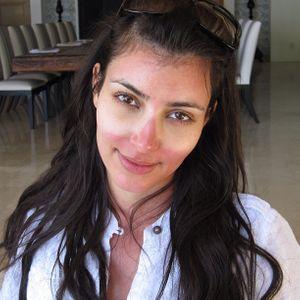 Kim Kardashian coup de soleil