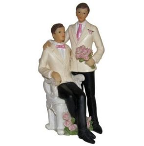 figurines, mariage gay