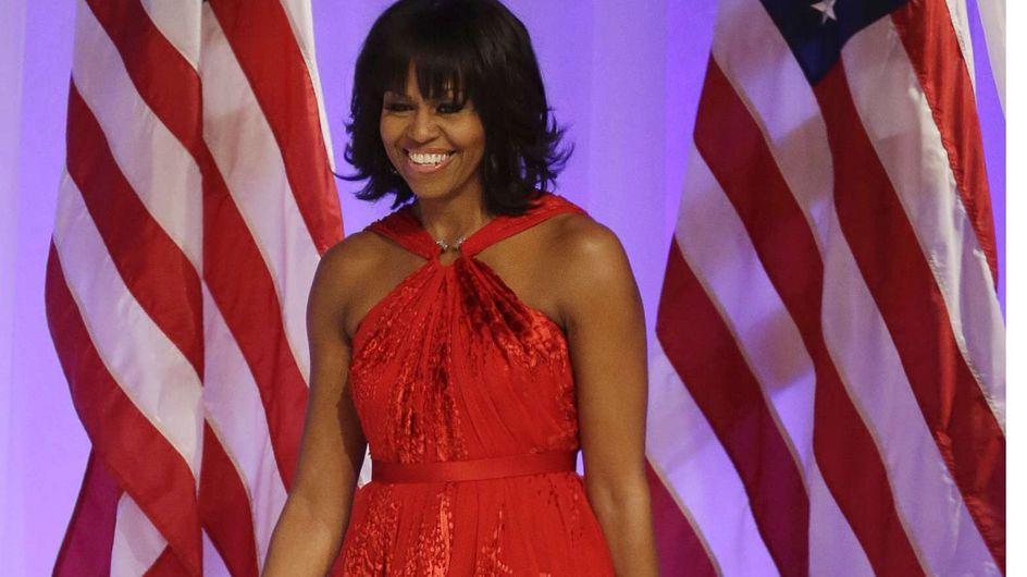 Michelle Obama : Sublime pour le bal d'inauguration présidentiel (Photos et vidéo)