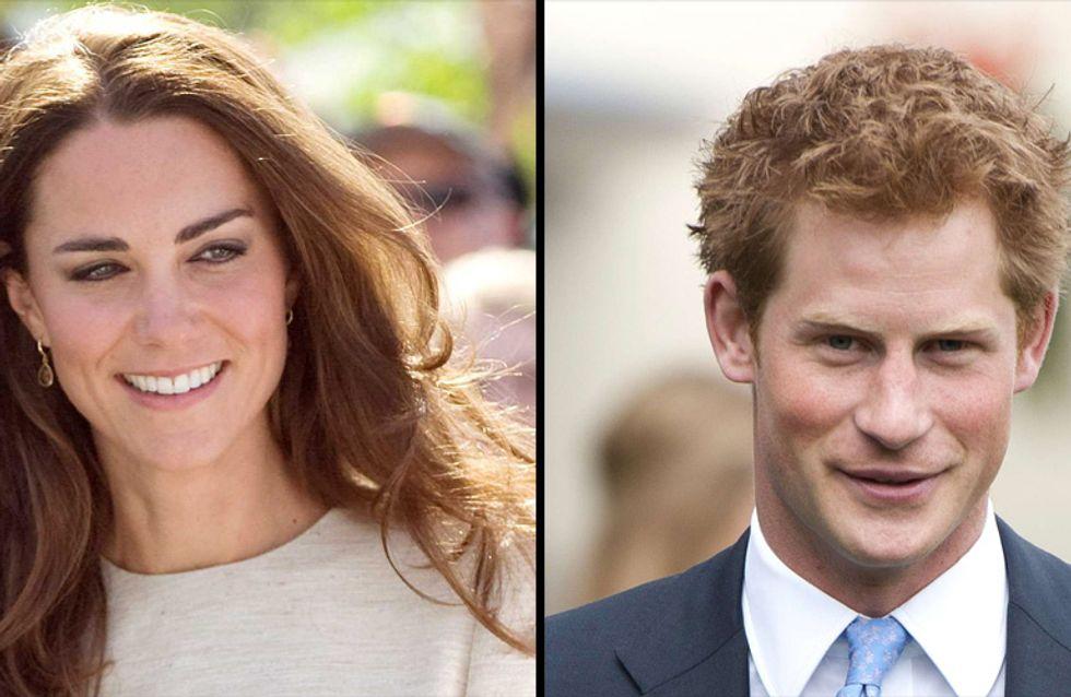 Kate Middleton enceinte : Le Prince Harry s'impatiente…