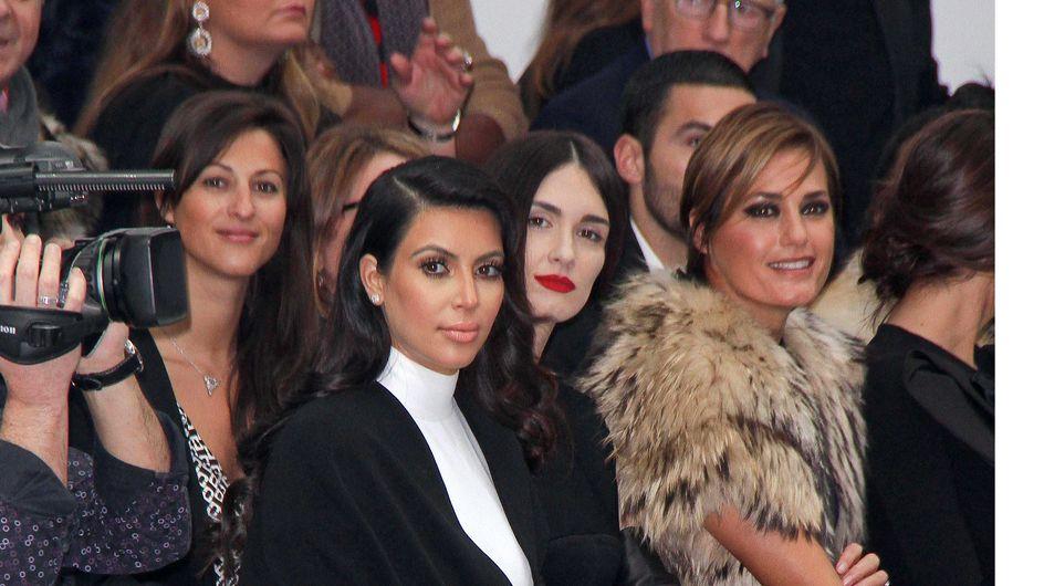 Kim Kardashian : Chic et sobre pour la Fashion Week (Photos)