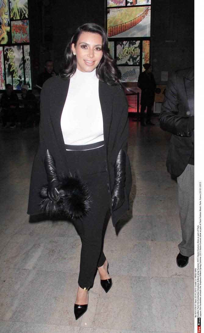 kim kardashian, fashion week