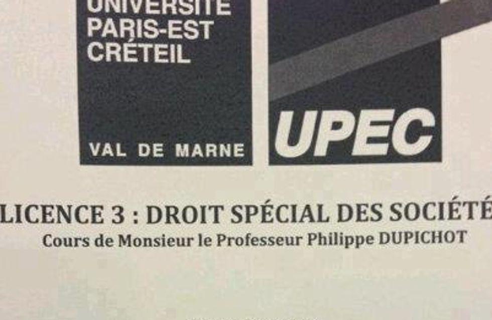 Jean Sarkozy : Il devient prof !