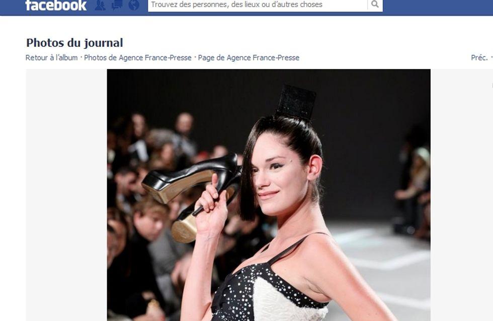 Fashion week : Julien Fournié fait défiler une femme enceinte