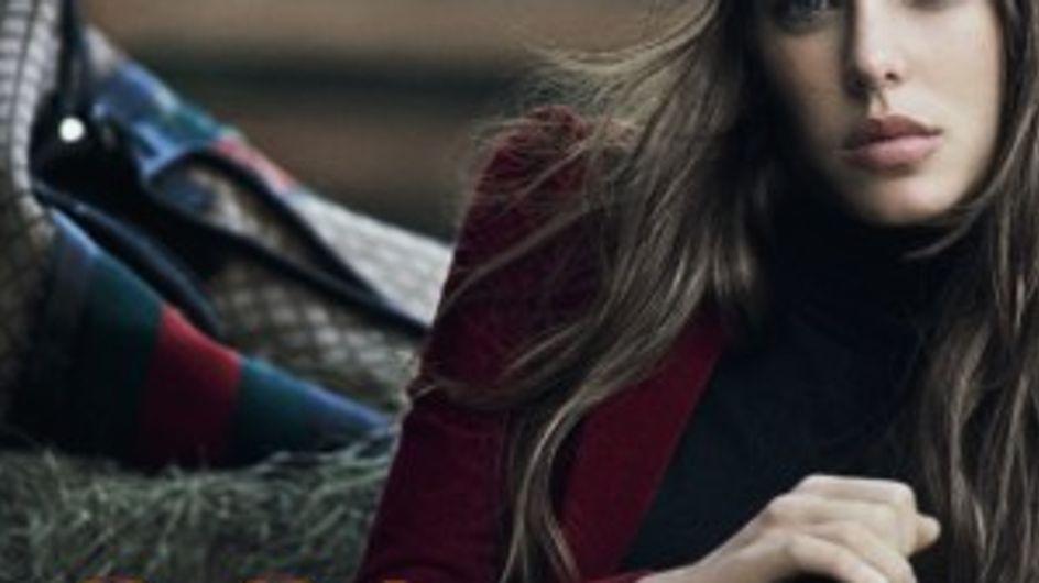 Charlotte Casiraghi : Belle et sauvage pour la nouvelle campagne Gucci (Photos)
