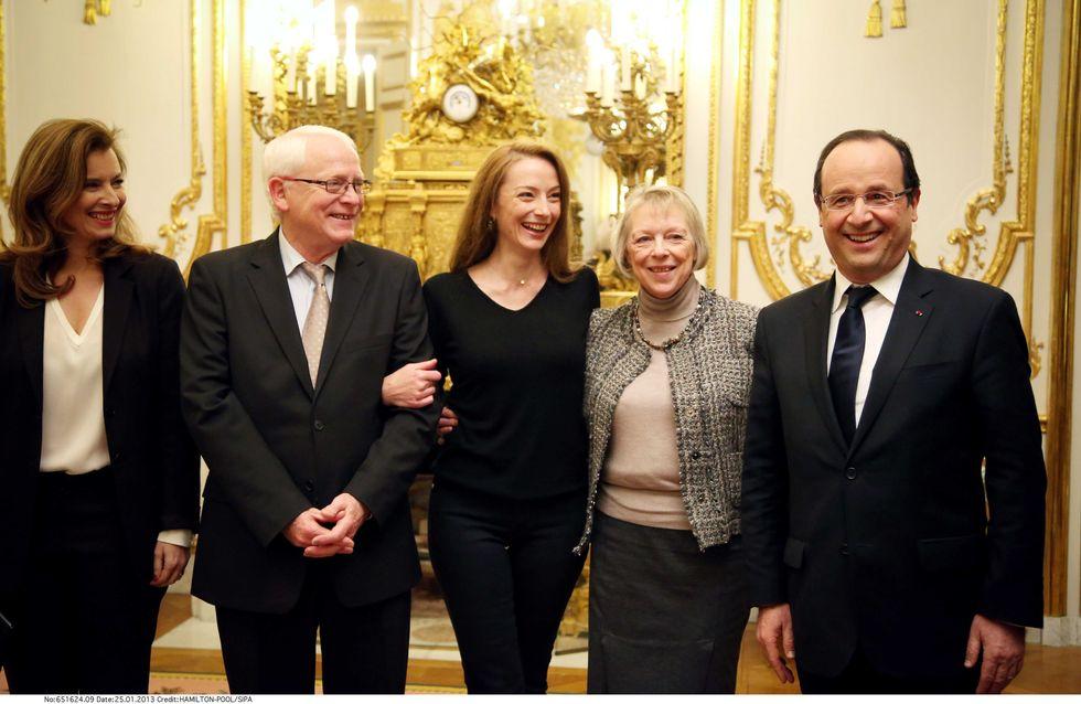 Florence Cassez reçue par François Hollande et Valérie Trierweiler (Vidéo)