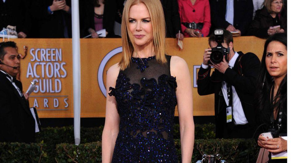 Nicole Kidman : Un look très hot aux SAG Awards (Photos)