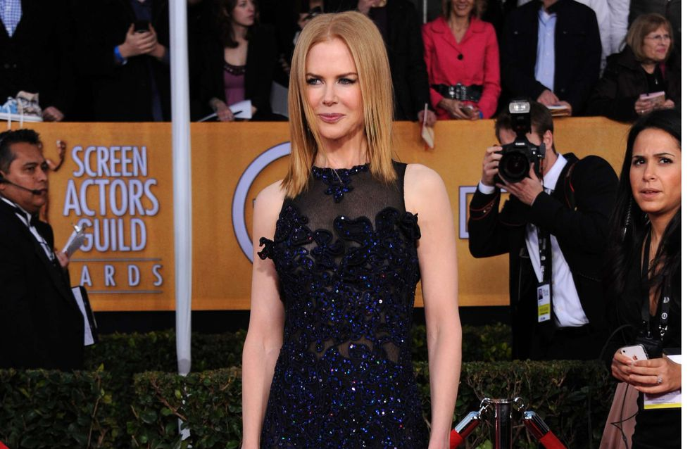 Nicole Kidman : Un look très hot aux SAG Awards (Photos)