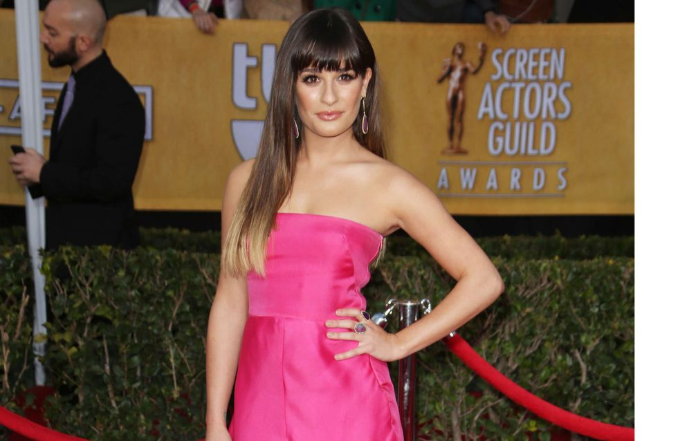 Lea Michele : Un vrai bonbon aux SAG Awards ! (Photo)