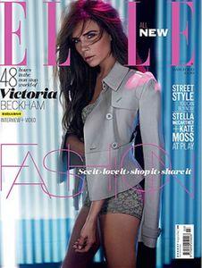 Victoria Beckham pour Elle UK