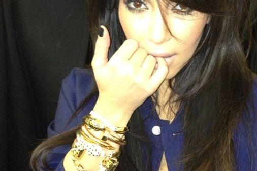 Kim Kardashian bracelets Cartier