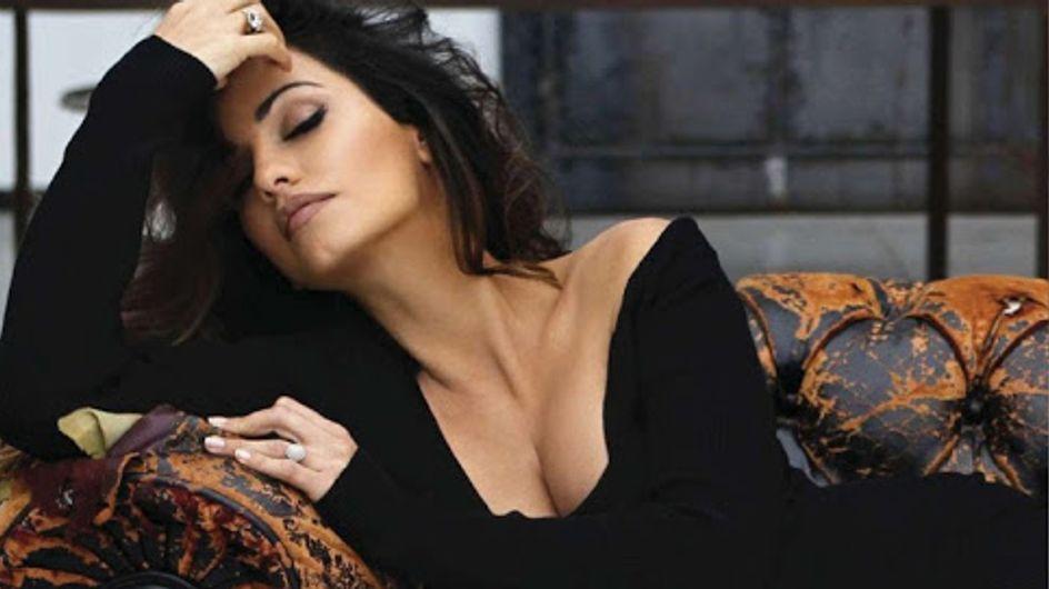 Monica Cruz : Enceinte et sexy dans le ELLE Espagne (Photos)