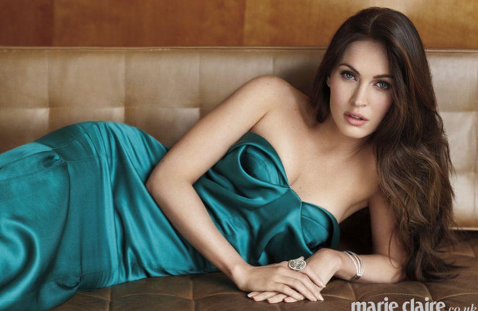 Megan Fox : Jeune maman sexy en couverture du Marie Claire UK (Photos)