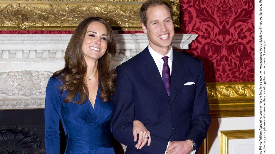 Kate Middleton : La robe de ses fiançailles adaptée aux femmes enceintes
