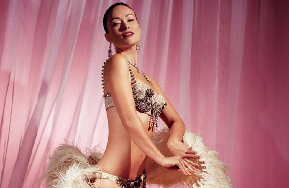 Olivia Wilde : Meneuse de revue glamour pour Vanity Fair (Photos)