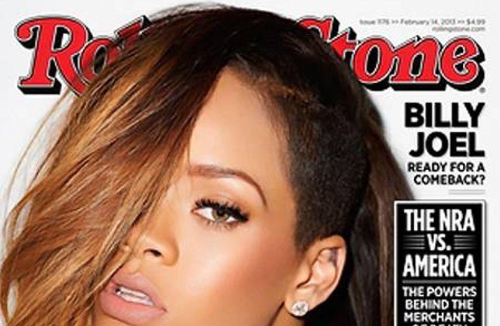 Rihanna : Elle déclare sa flamme à Chris Brown dans Rolling Stone