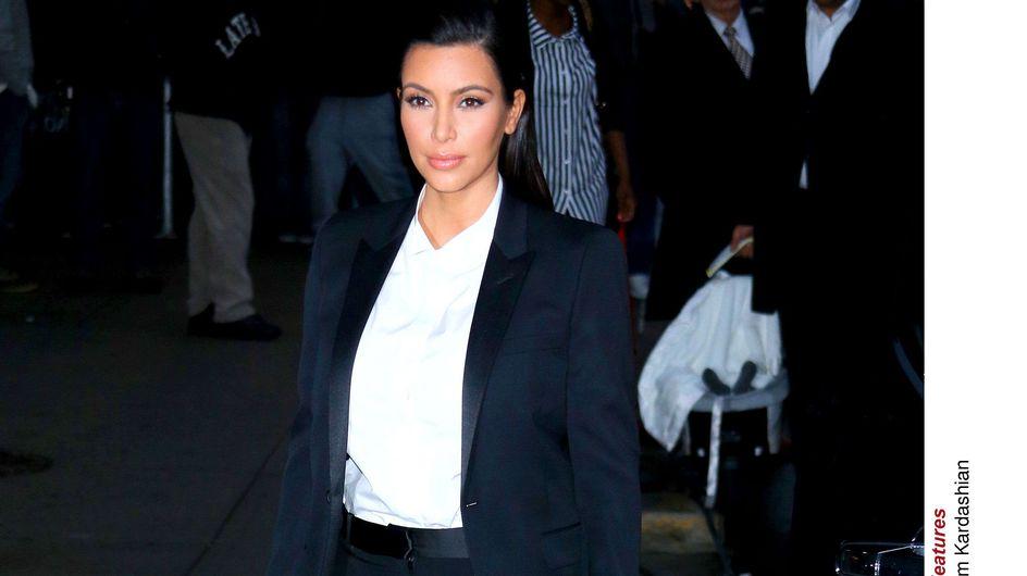 Kim Kardashian : On voit enfin son petit ventre !