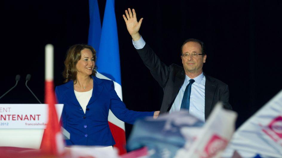 """François Hollande : Ségolène Royal lui """"passe le flambeau"""" (Vidéo)"""