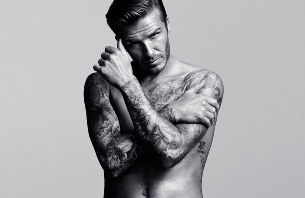 David Beckham : Ses photos en slip choquent
