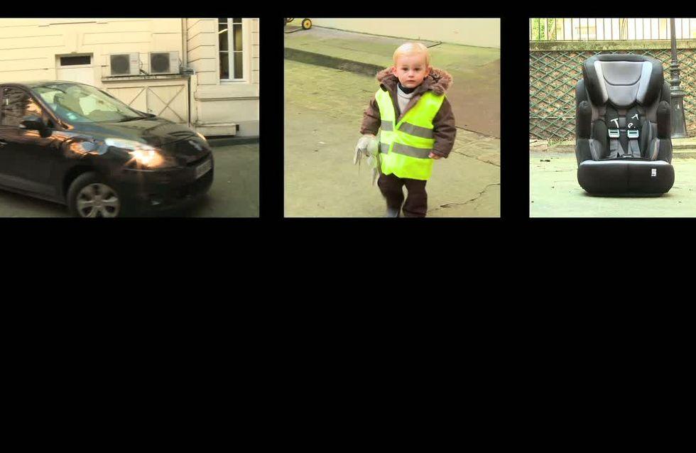 Sécurité routière : 2 enfants sur 3 sont mal attachés en voiture