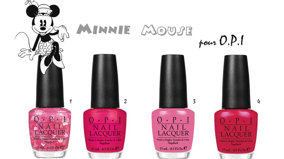 O.P.I : Hello les vernis Minnie Mouse ! (Photos)