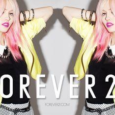 Forever 21 : Charlotte Free est la nouvelle image de la marque ! (Photos)
