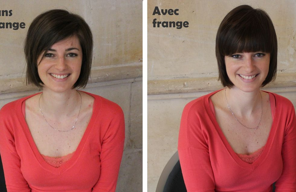Tendance cheveux : J'ai testé… la frange à cliper !