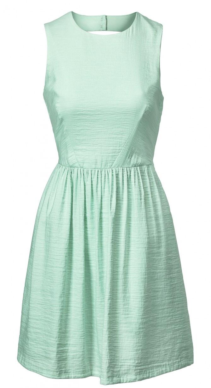 Robe H&M vert d'eau