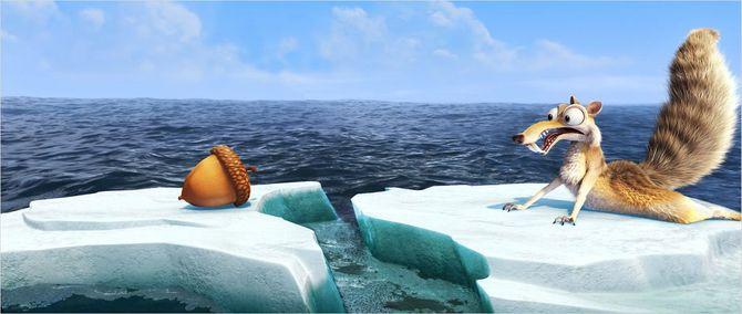 Scrat L'Age de glace 4