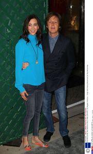 Paul McCartney et sa femme