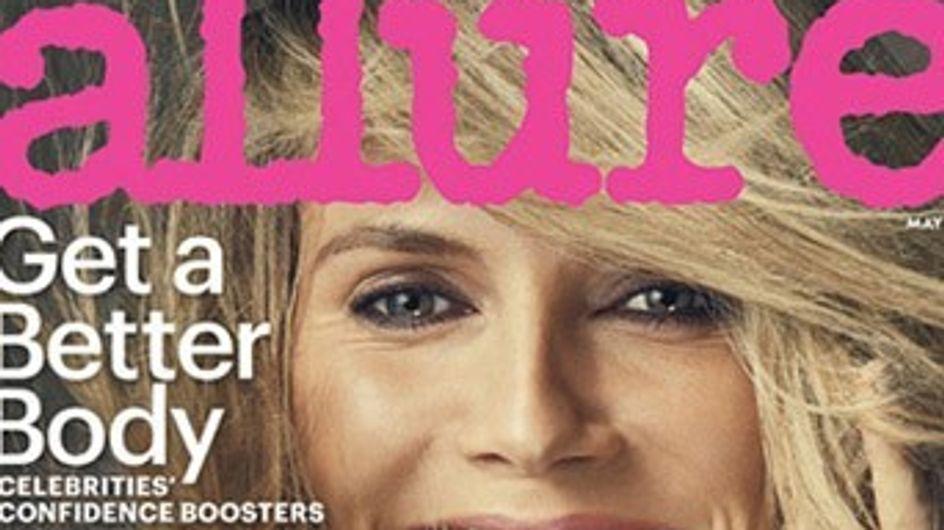 Heidi Klum : Nue dans un magazine (Photos)