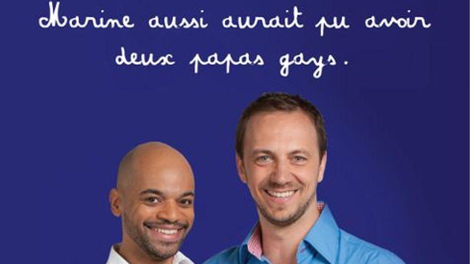 Homoparentalité : Et si les candidats avaient été élevés par des couples gays ? (photos)