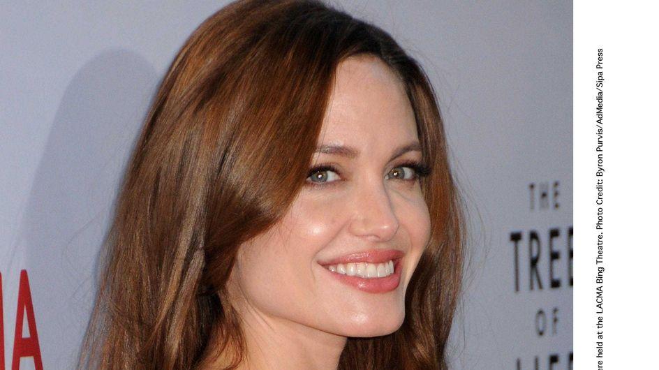 Angelina Jolie : Ses enfants dessinent sa robe de mariée