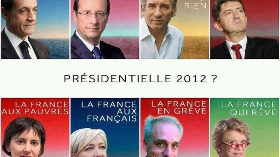 Présidentielle 2012 : Les affiches détournées qui font le buzz ! (Photos)